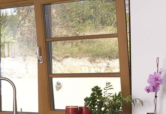 پنجره های دو حالته UPVC 3