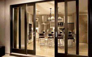 Door and window double upvc slider