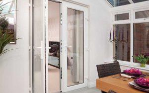 French upvc door and window