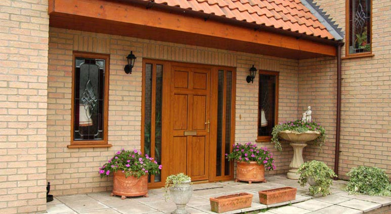 Use upvc residential doors