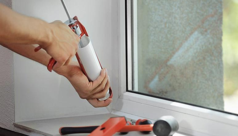 Install upvc window