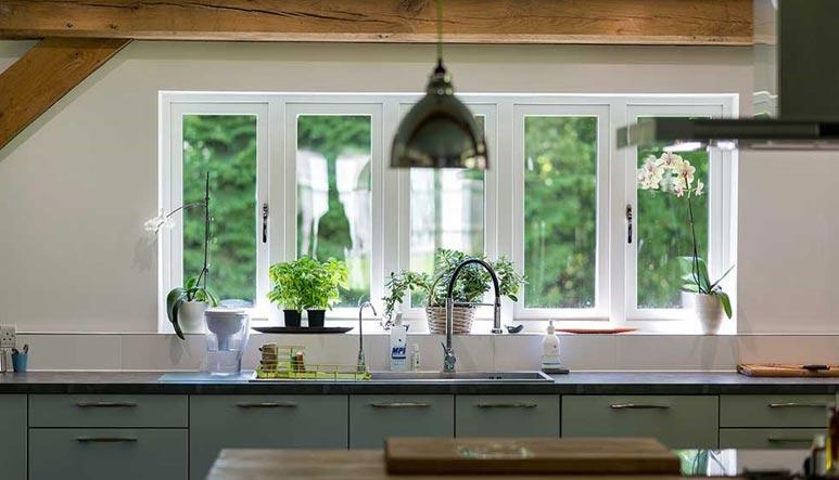 Double upvc windows