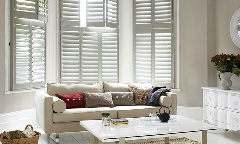 Shutters for double glazed windows