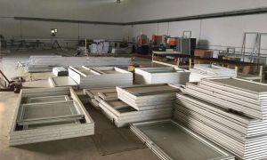 Upvc door and window production standard