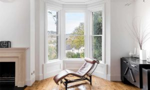 Changing the architecture of the house with the UPVC window