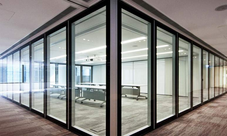 Build an internal partition with upvc door and window