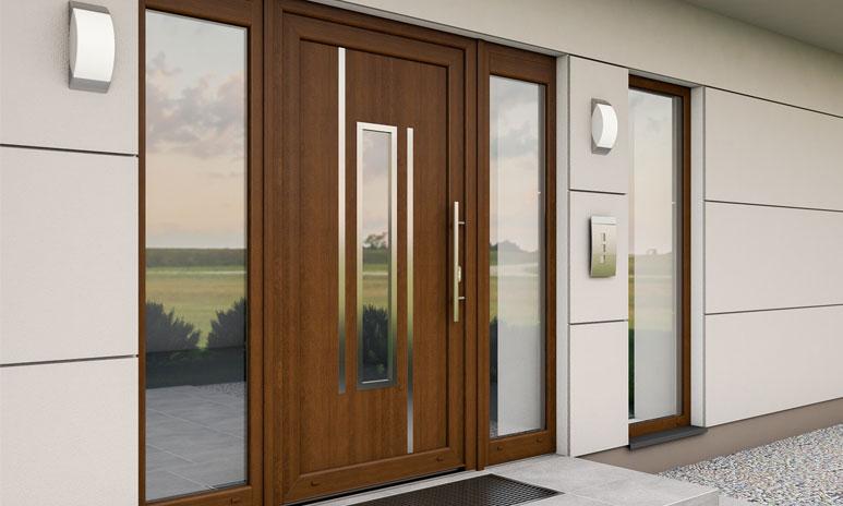 Application of PVC doors