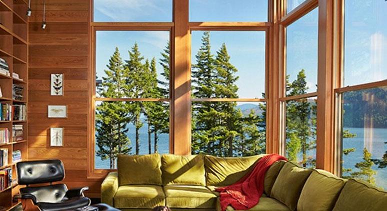 Advantage of three-walled windows