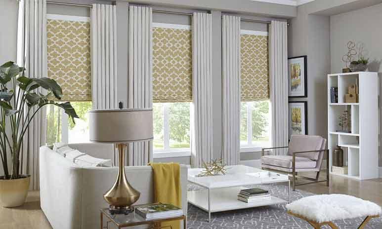 پوشش پنجرههای بلند