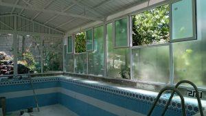 پروژه آقای نباتی پوشش استخر