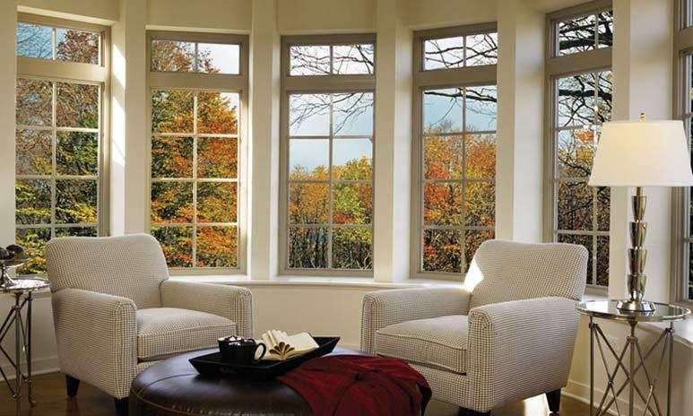 ساخت یک پارتیشن یا یک ایوان شیشهای و البته پنجرههایی از ساختمان بهترین جاها برای استفاده از در و پنجره upvc هستند